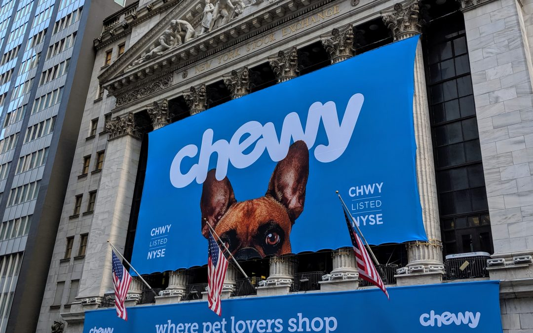 Chewy Shares Fall on Wider-Than-Expected Quarterly Loss