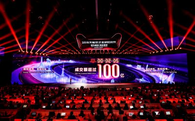 Alibaba Breaks Singles Day Sales Record