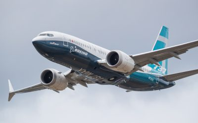Boeing Shares Slide After Temporarily Suspending 737 Production